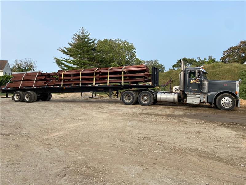 Steel first load