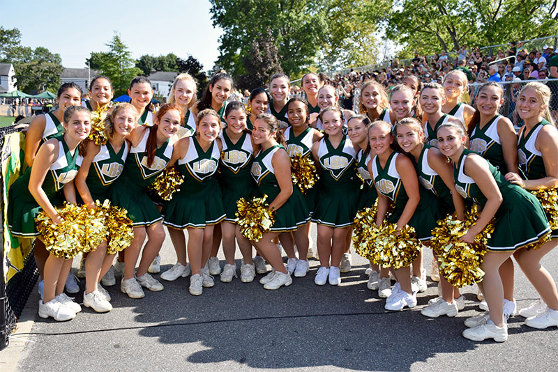 Lynbrook Beams with Pride During Homecoming photo