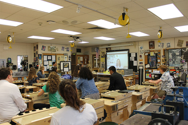 Visiting Professional Artist Series at LHS Kicks Off 3rd Year photo