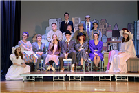 Lynbrook Students Channel Playwright's Life in 'Act One' photo