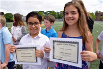 Fifth-Grade Graduates Set Their Sights on Middle School photo