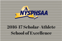 LHS Named a Scholar Athlete School of Distinction Photo