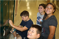 Sixth-Graders Get Oriented photo