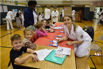 Kindergartners Celebrate Health and Wellness Week photo