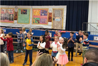 Students Shine in Thanksgiving Performance photo