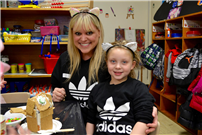 Kindergartners Build Gingerbread Homes for the Holidays Photo 4
