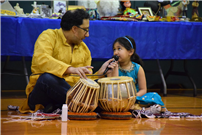 Photo of father and daughter performance