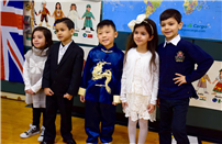 Photo of students dressed up