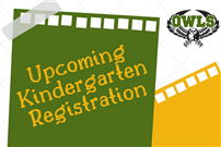 Upcoming Kindergarten Registration Graphic  thumbnail143482