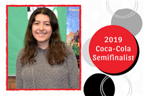 Outstanding Senior Selected as 2019 Coca Cola Semifinalist Photo