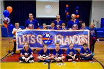 Photo of students with the Islanders  thumbnail83744