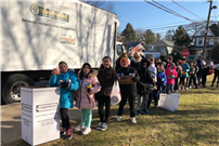 Marion Street Students Donate More than 3,000 Meals to Those in Need Photo 1