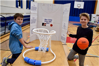 Photo of students with basketball project thumbnail89607