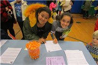 Photo of students at Math Night