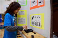 Photo of student showcasing project thumbnail89610