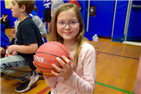 Photo of student with basketball  thumbnail90032