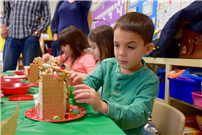 Student Making Gingerbread House thumbnail85230
