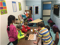 Photo of West End Students Playing Chess