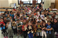 Photo of students with their teddy bears thumbnail81905